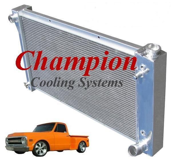 Champion Cooling Systems All Aluminum Radiators Are Available In 2