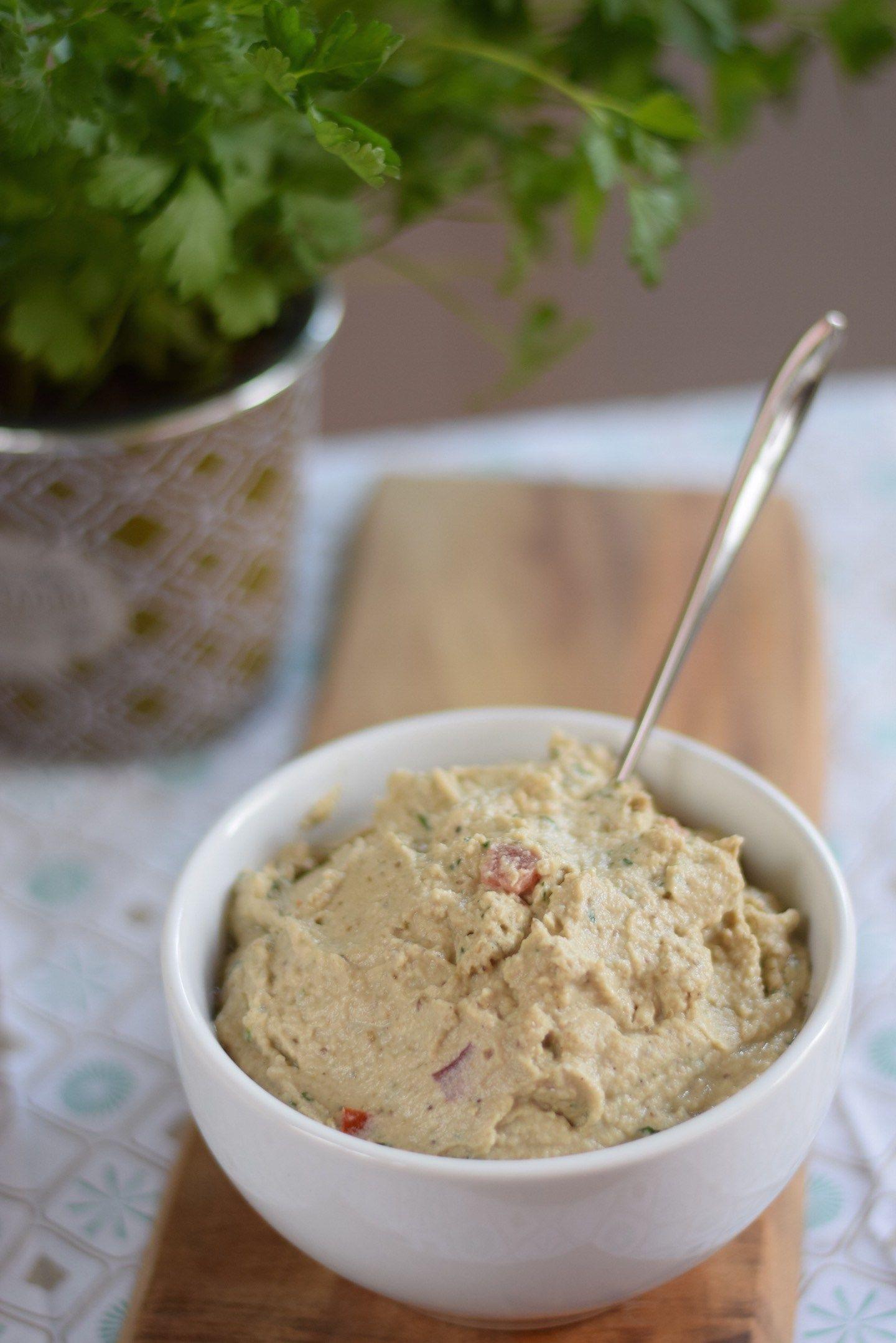 Auberginencreme (vegan) | Natürlich schmeckt's