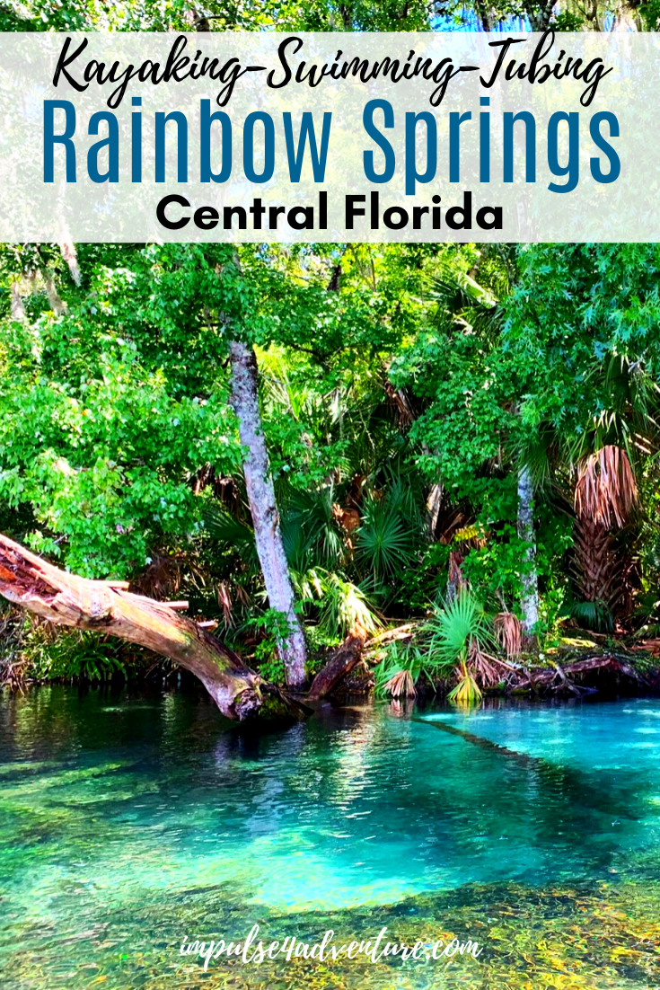 Rainbow Springs Kayaking And Tubing In 2020 With Images