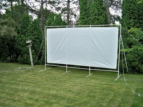 Customer Testimonials Outdoor Movie Screen Backyard Screen Stands