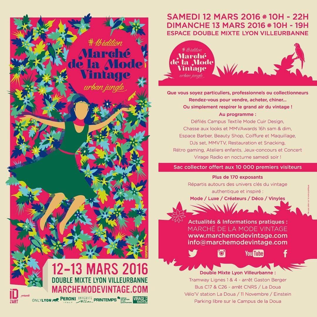Flyer Rose Marchemodevintage Mmv16 Urbanjungle Flyer Book Cover Urban Jungle