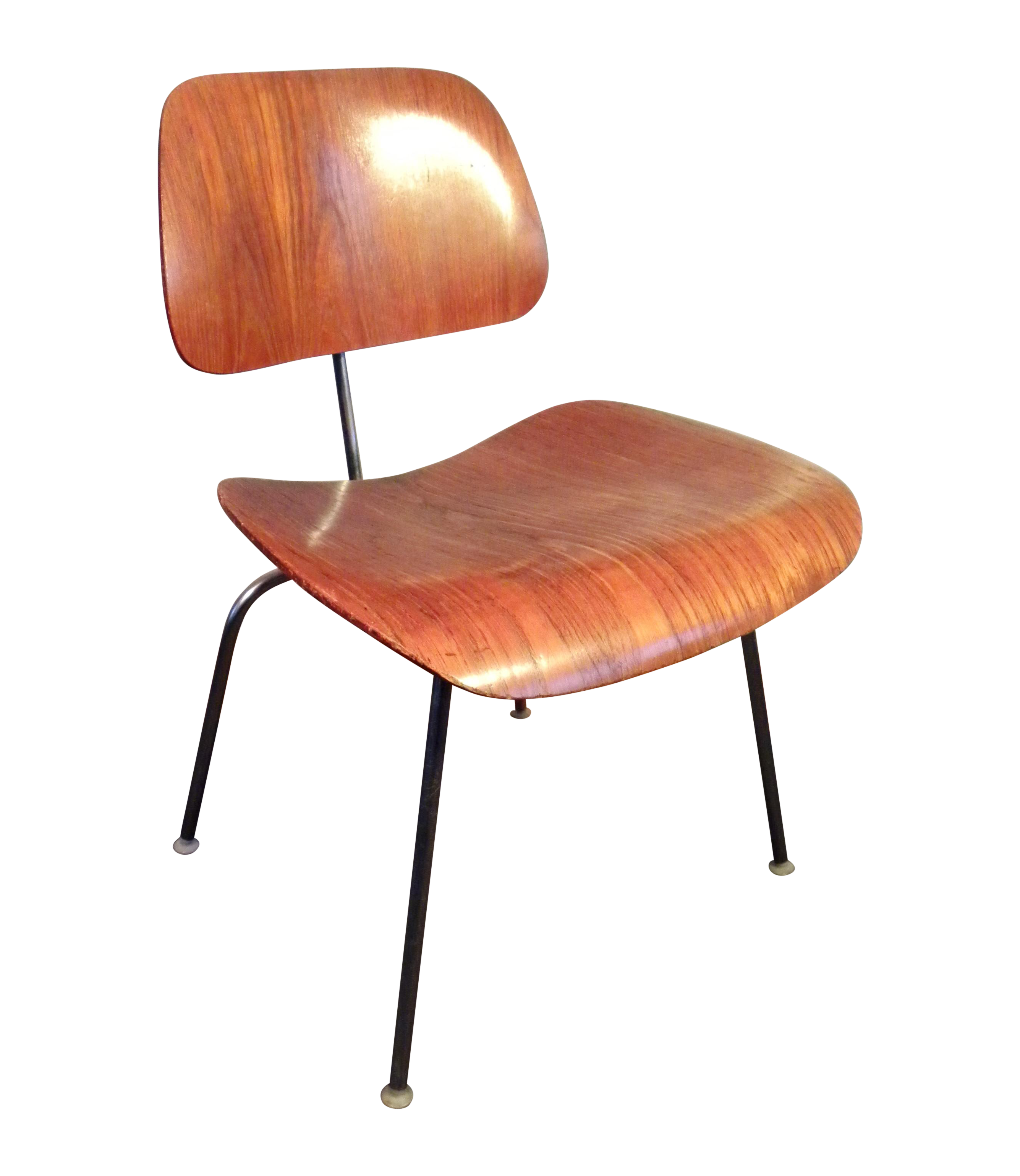 Eames Chair Wien original 1960 s eames herman miller dcm chair plywood lounge