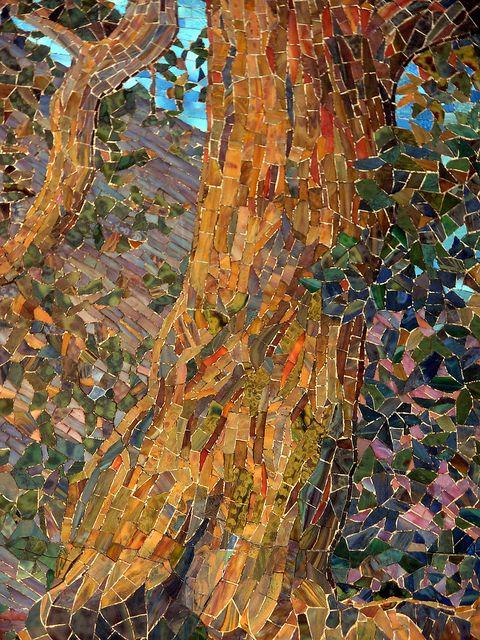 Dream garden mosaic by tiffany mosaics garden mosaics for Mural mosaic