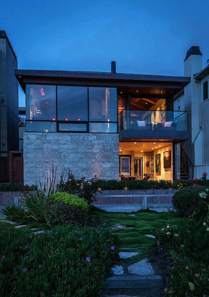 Ocean front residence by beach house design development for Ocean house plans