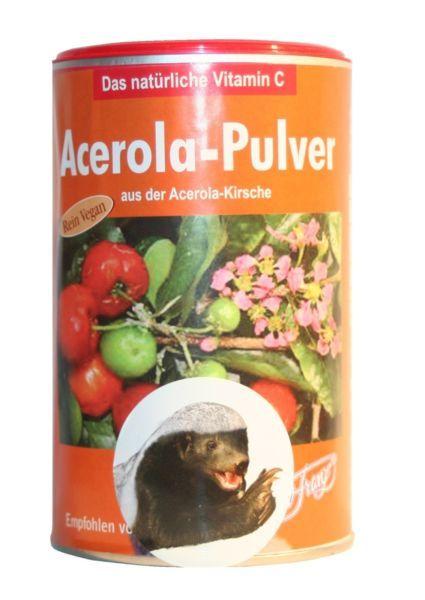 Acerola Pulver 175 g - rein Vegan - das natürliche Vitamin C von Robert Franz
