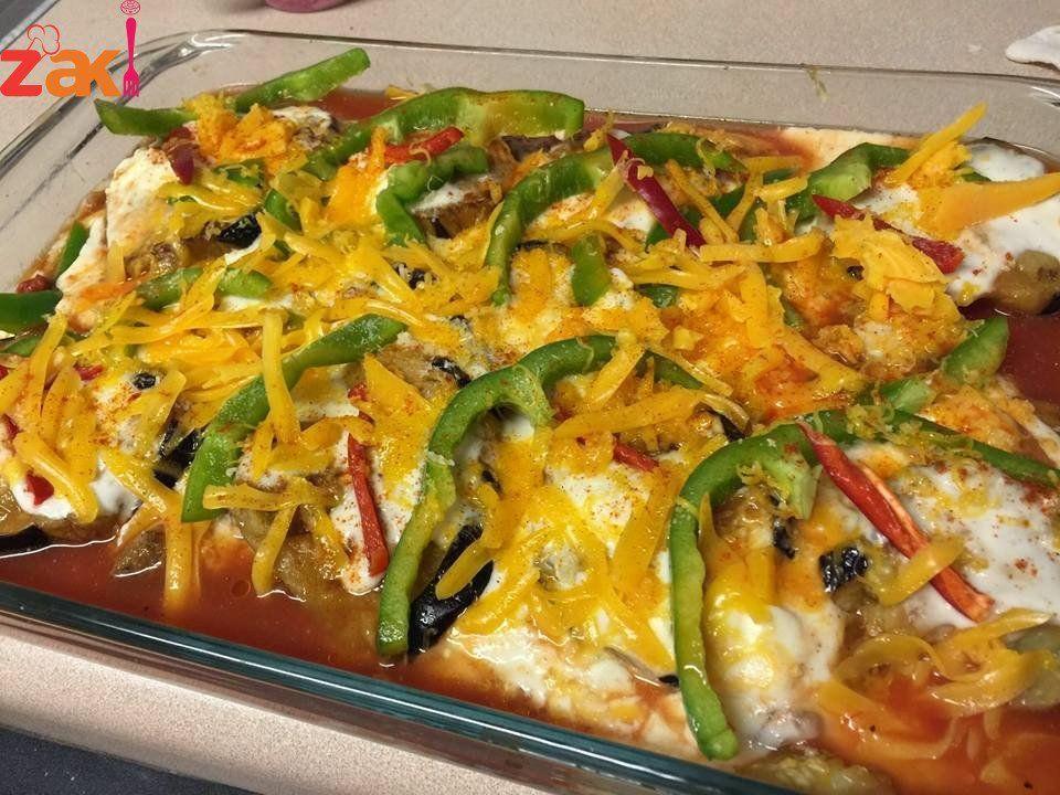 طريقة عمل المسقعة باللحمة المفرومة زاكي Main Dishes Dishes Food