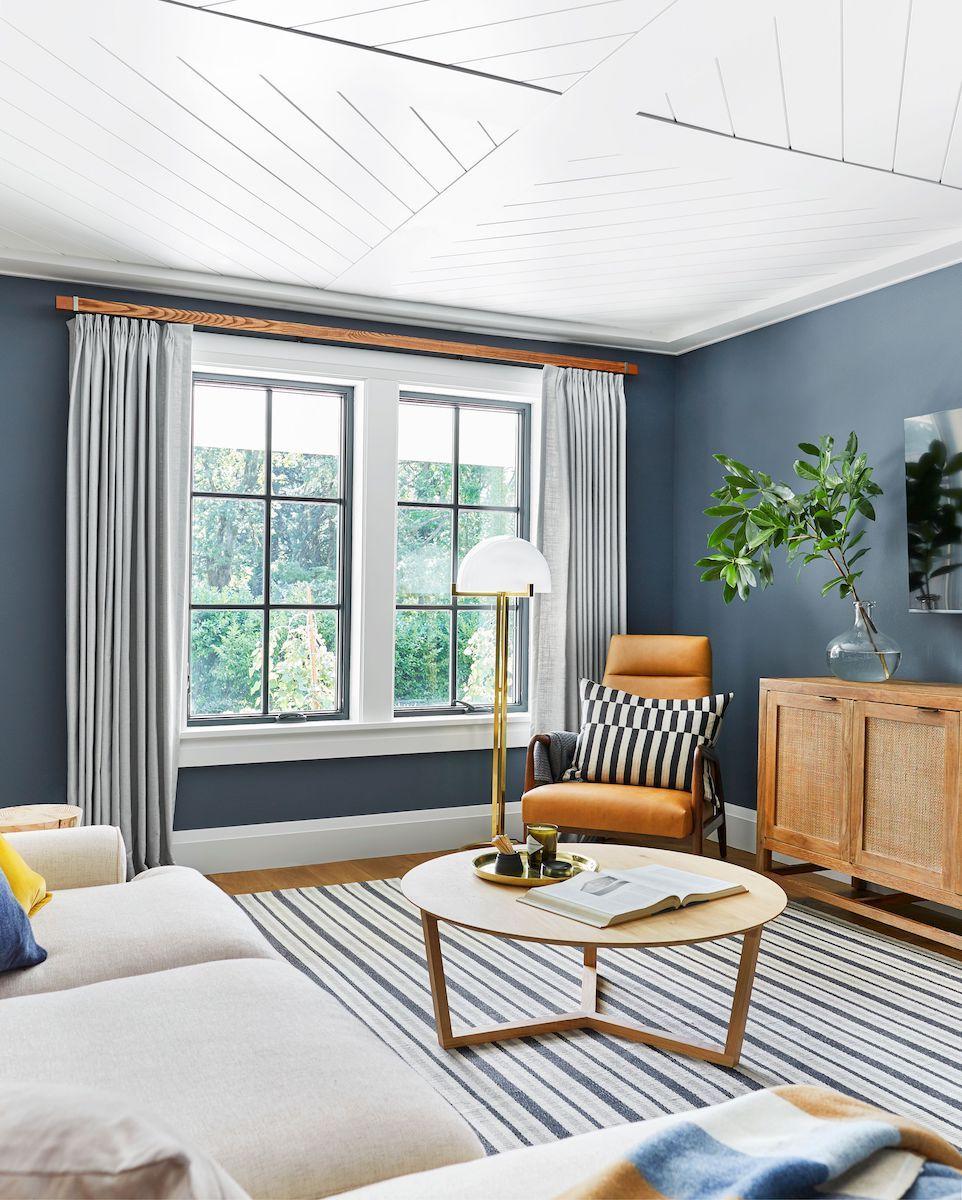 Best Designer Approved Paint Colors For Dark Rooms Blue Living Room Dark Living Rooms Room Colors