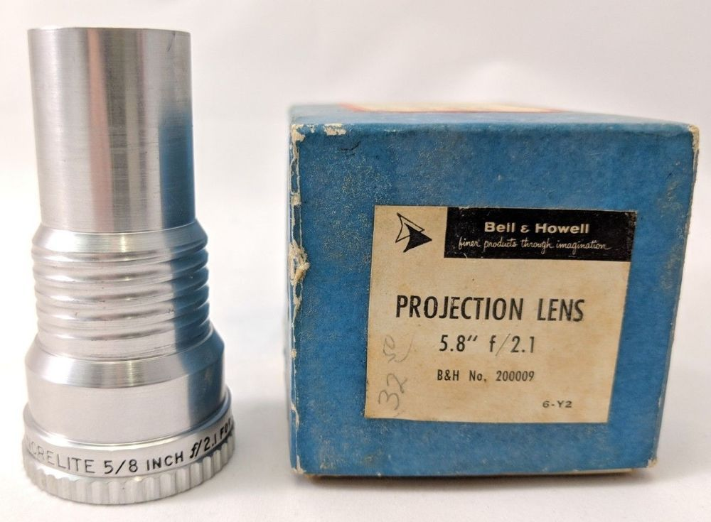 Bell & Howell Projection Lens Increlite 5 8