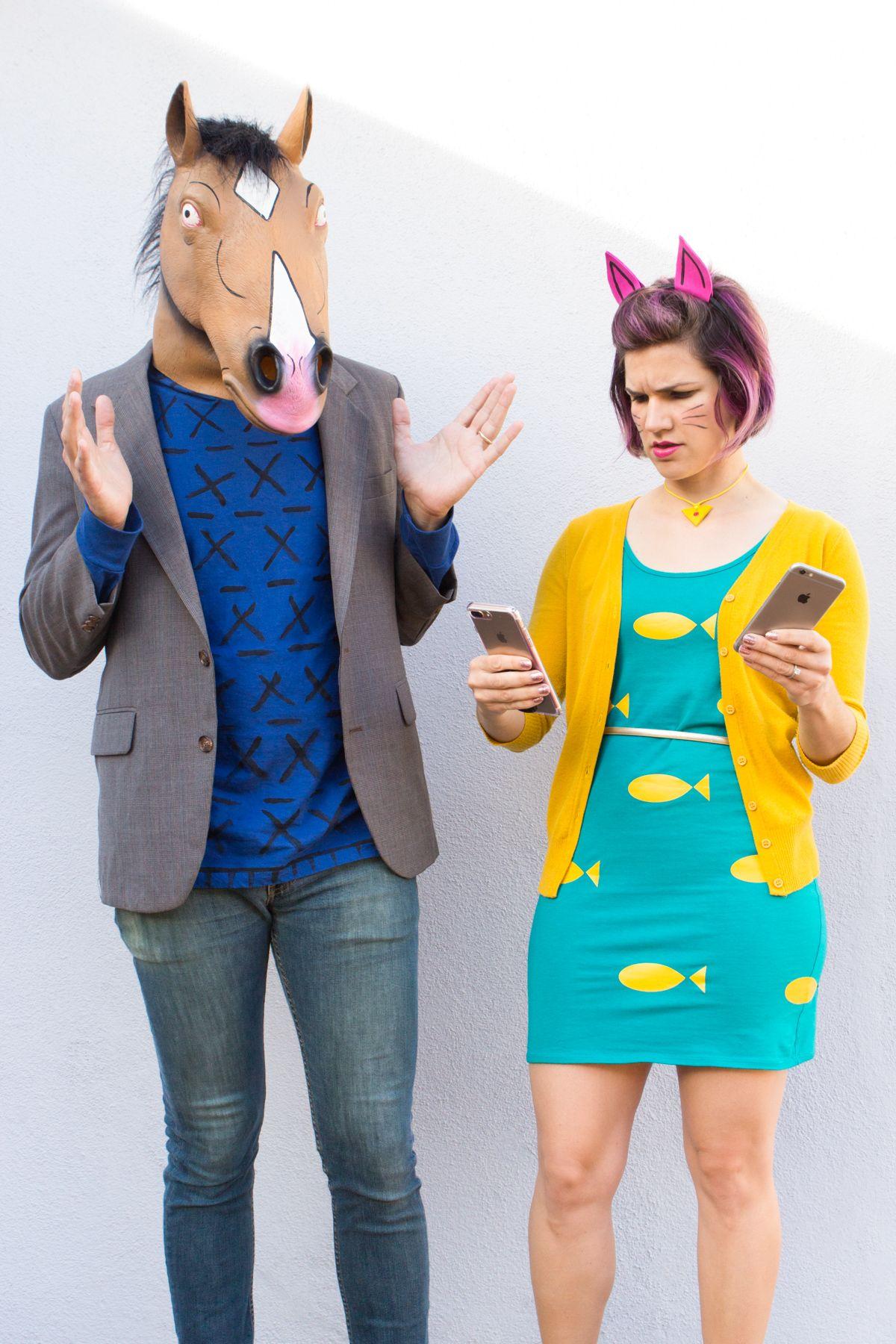 bojack horseman and princess carolyn halloween costumes | halloween