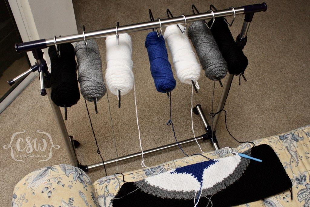 Yarn Management System Crochet Me Crochet Knitting