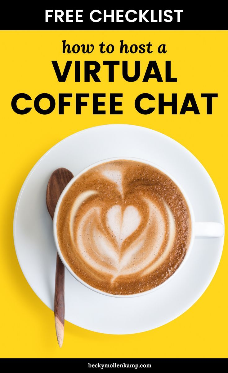 All About Virtual Coffee Chats (& How They Can Grow Your Business)
