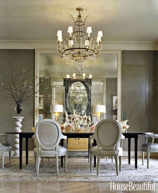 25 Elegant And Exquisite Gray Dining Room Ideas: 25 New Decorating Secrets The Pros Swear By