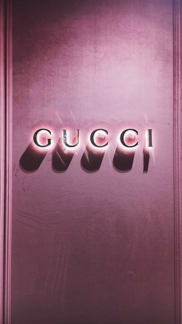 Iphone wallpaper aesthetic tumblr Gucci background gucci love pink Instagram  Fondos Favoritos
