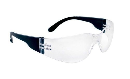 NSX Safety Glasses (Black/Clear)