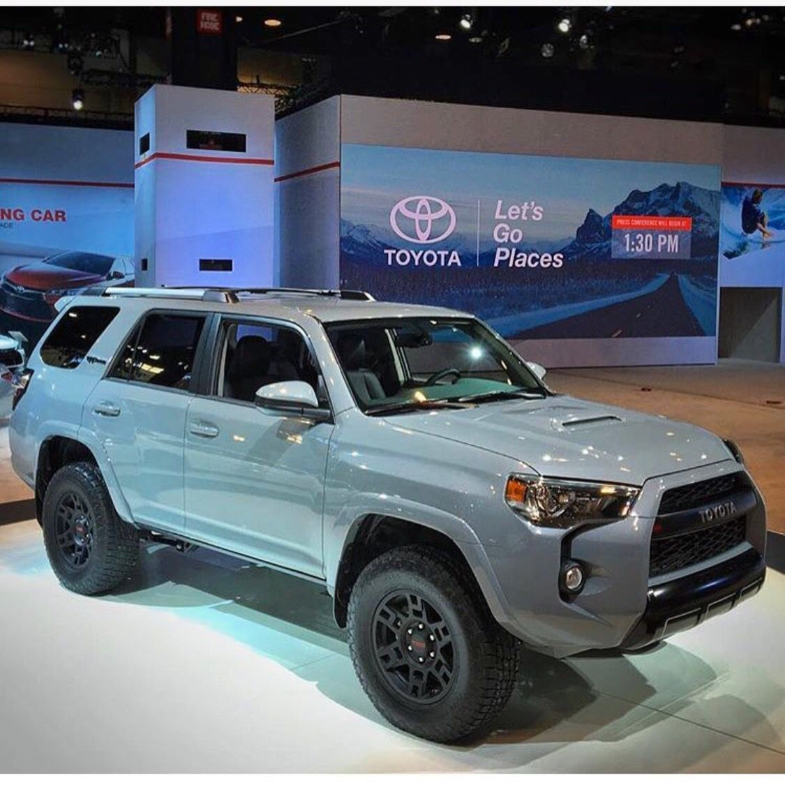 2017 toyota 4runner trd pro in cement a color used on. Black Bedroom Furniture Sets. Home Design Ideas