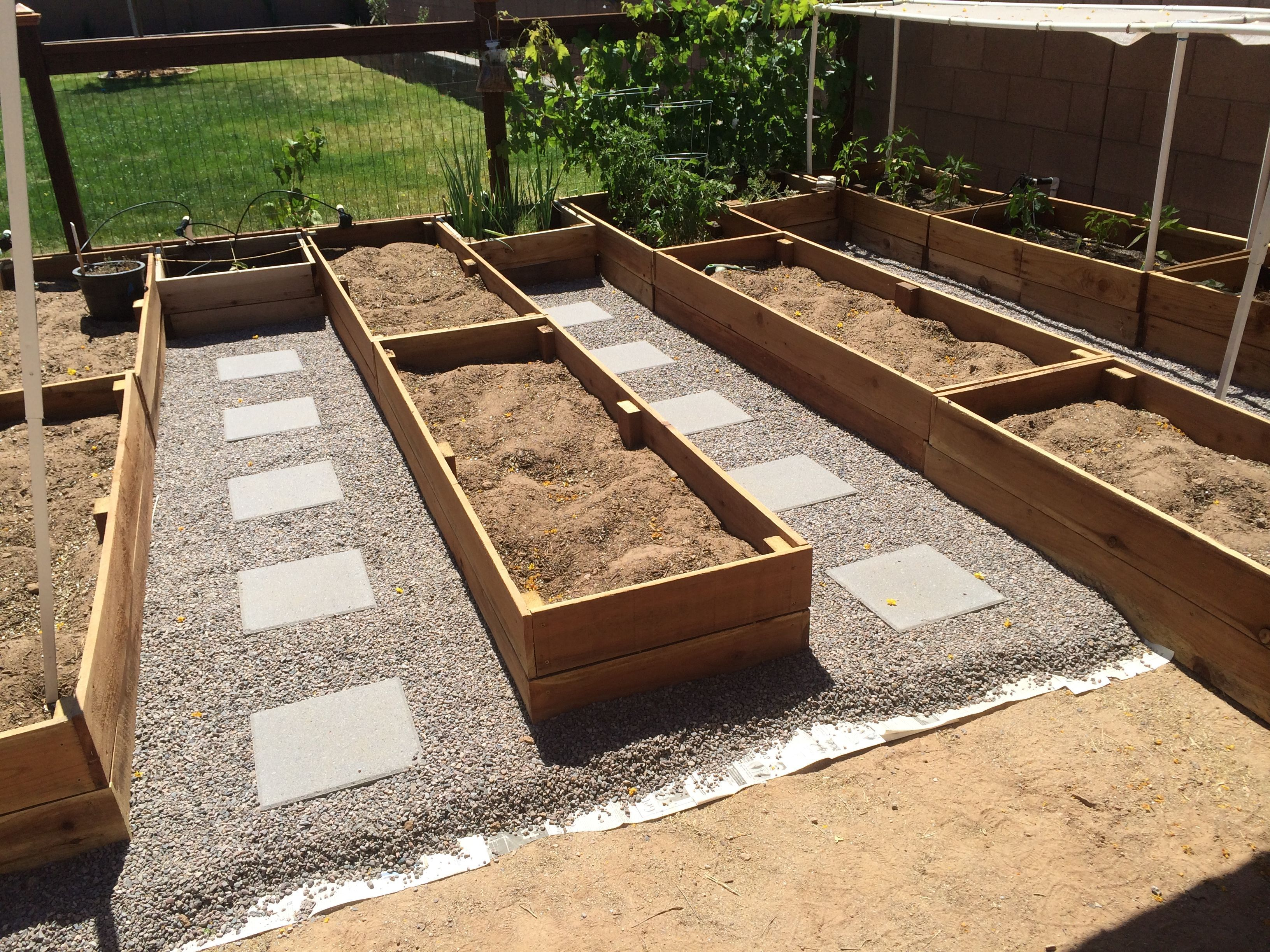 Building Redwood Raised Garden Beds | Handmade and Homegrown ...