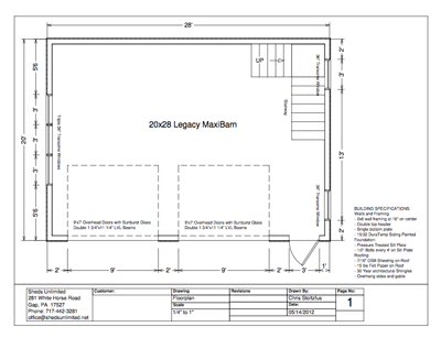 Image detail for Prefab Car Garage Plans Free Garage – Double Car Garage Plans