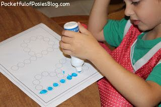 Using Multi-Sensory Materials - Do-A-Dot Letters