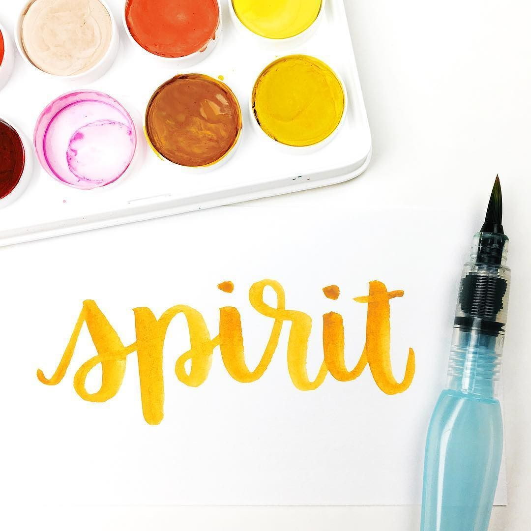 #lifeinletters  Paint is Artist's Loft by Michael's and brush is Pentel Aquash waterbrush in medium.  Edited using @acolorstory #AColorStory by randomolive