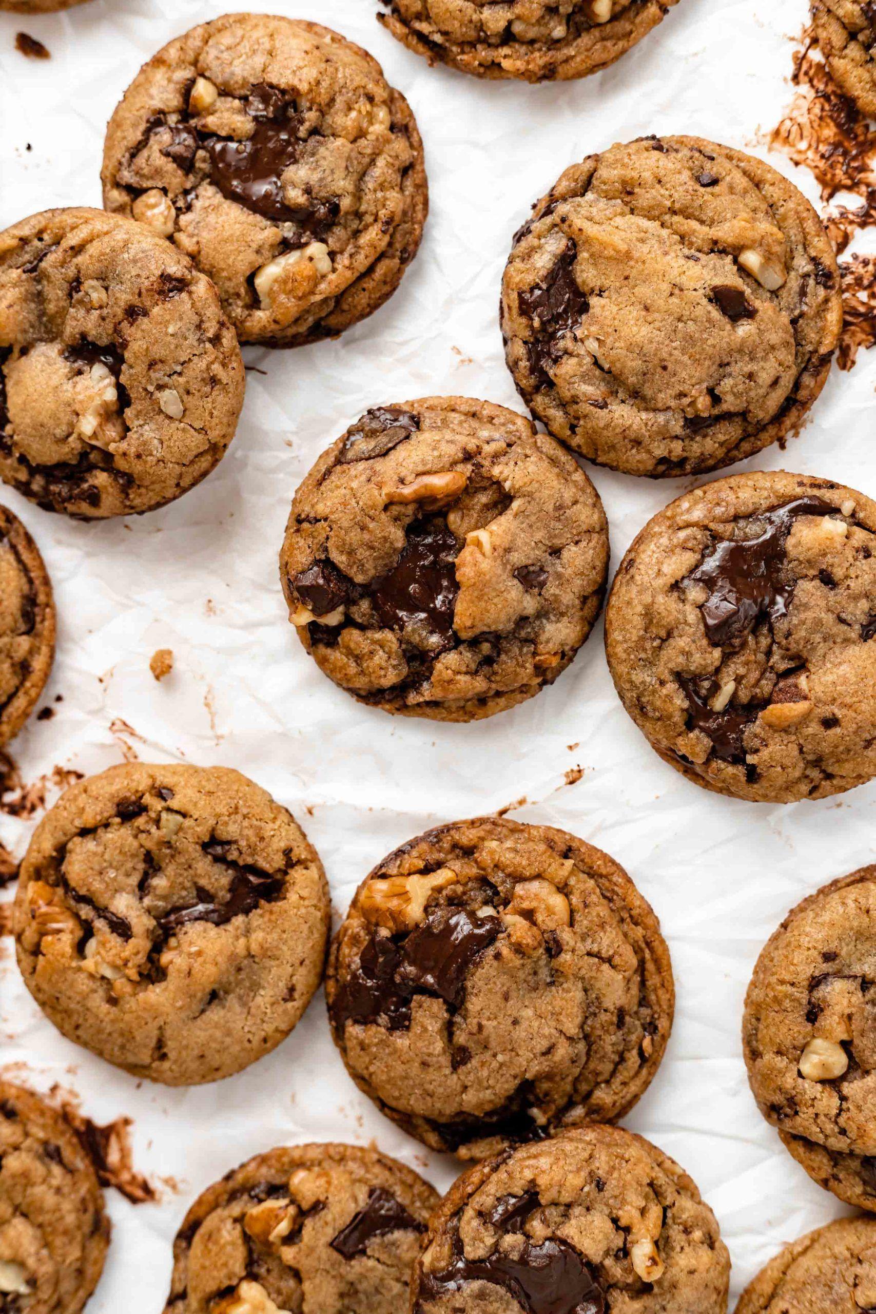Vegan Chocolate Chip Cookies Baked Ambrosia Recipe In 2020 Vegan Chocolate Chip Cookie Recipe Cookie Recipes Cookies Recipes Chocolate Chip