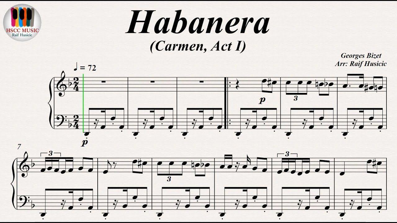Habanera Carmen Act I L Amour Est Un Oiseau Rebelle Georges