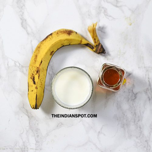 Image result for banana milk shake for hair