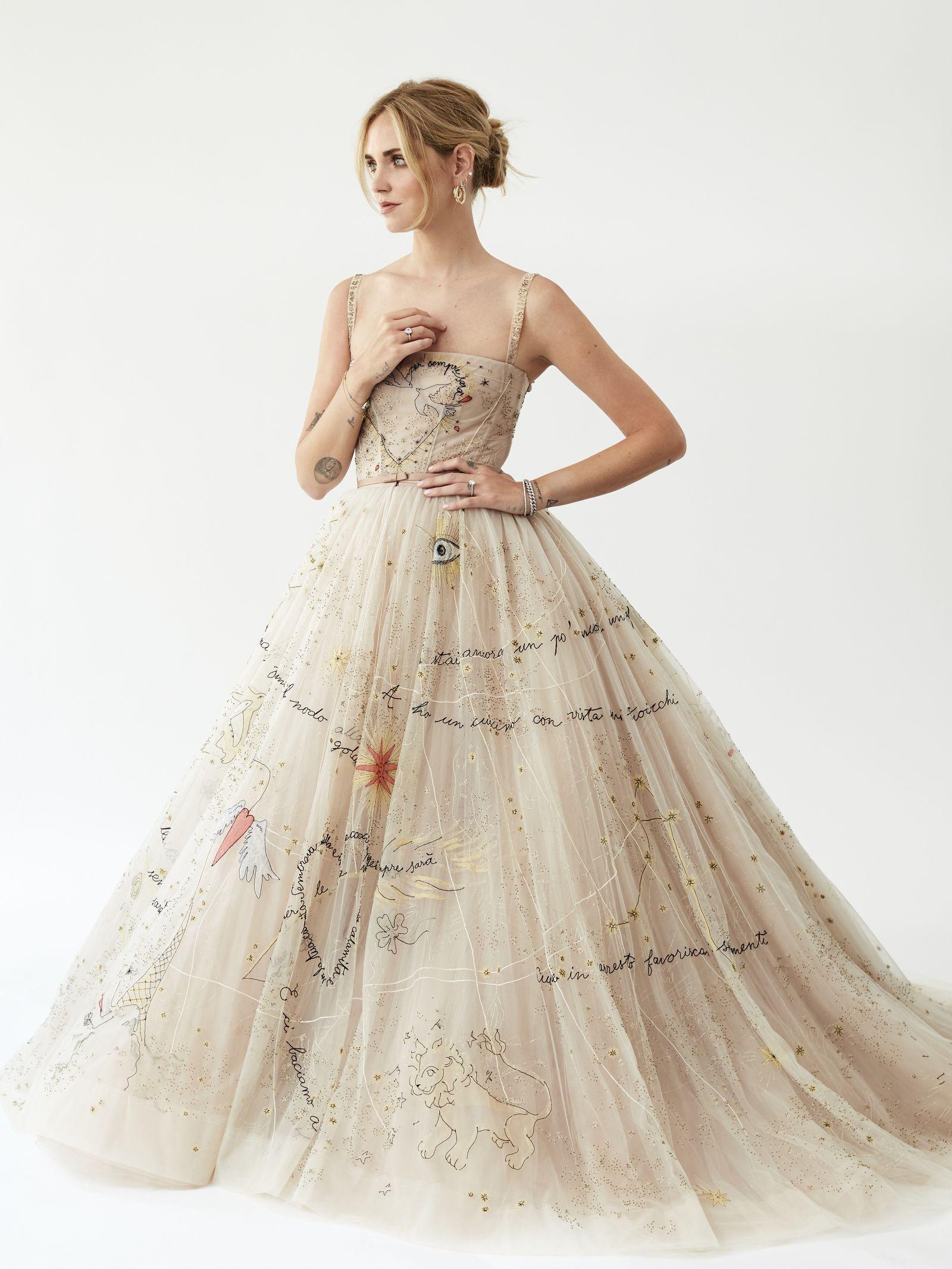 3ee3c518ff Chiara Ferragni's Wedding Dress Is More Influential than Meghan Markle's-  HarpersBAZAAR.com