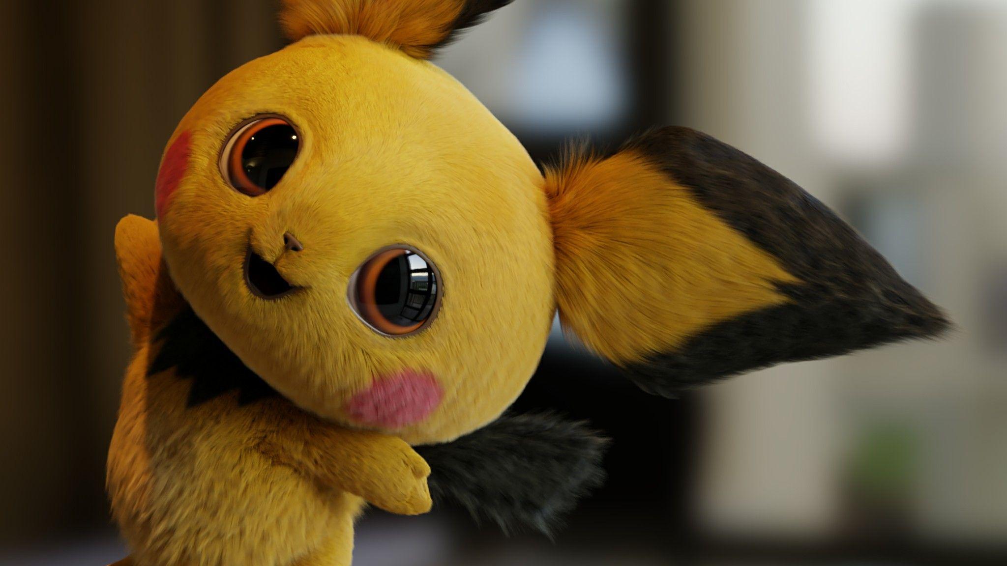 Pokemon Detective Pikachu Pichu Pikachu Wallpaper Pikachu
