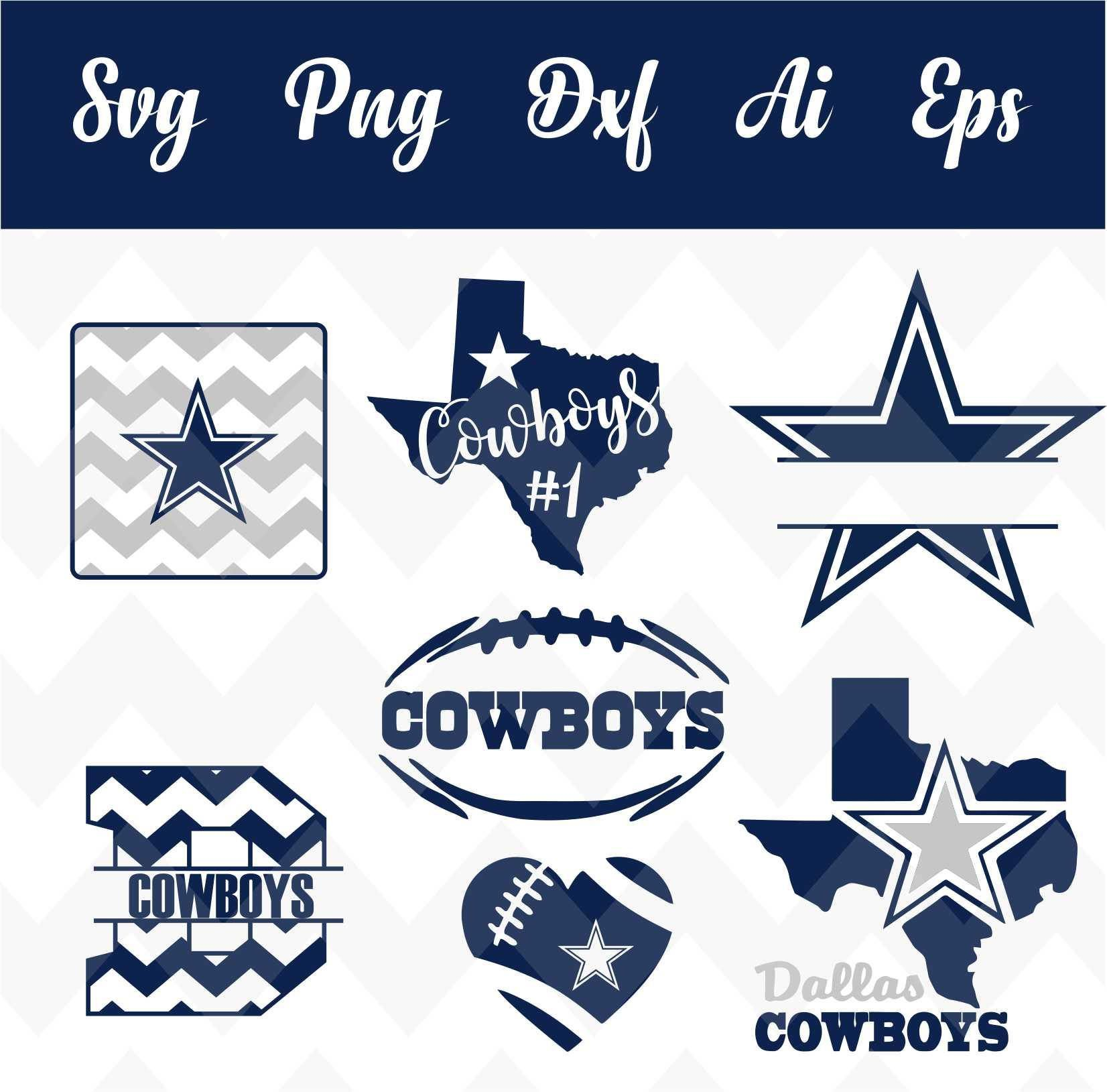 Free Dallas Cowboys Svg File Dallas cowboys crafts