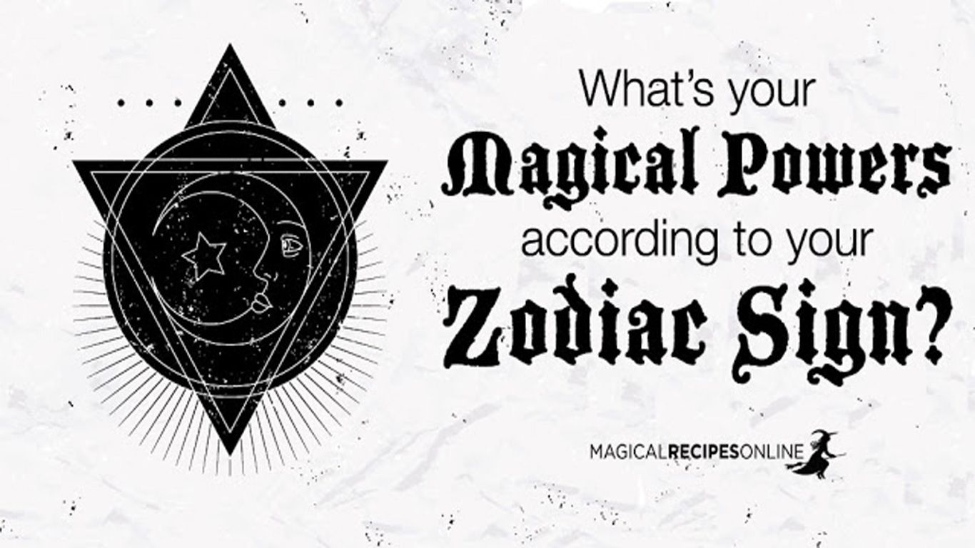 Pwith What Magical Powers Are You Born With According To Your