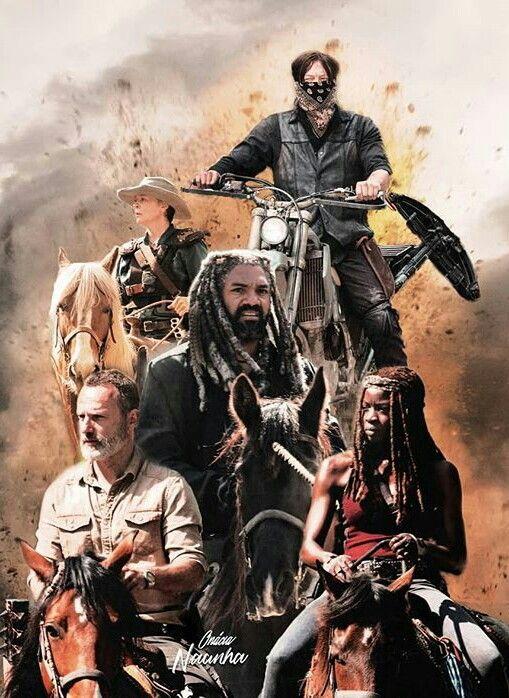 Season 9 Walking Dead Art Walking Dead Characters Fear The Walking Dead