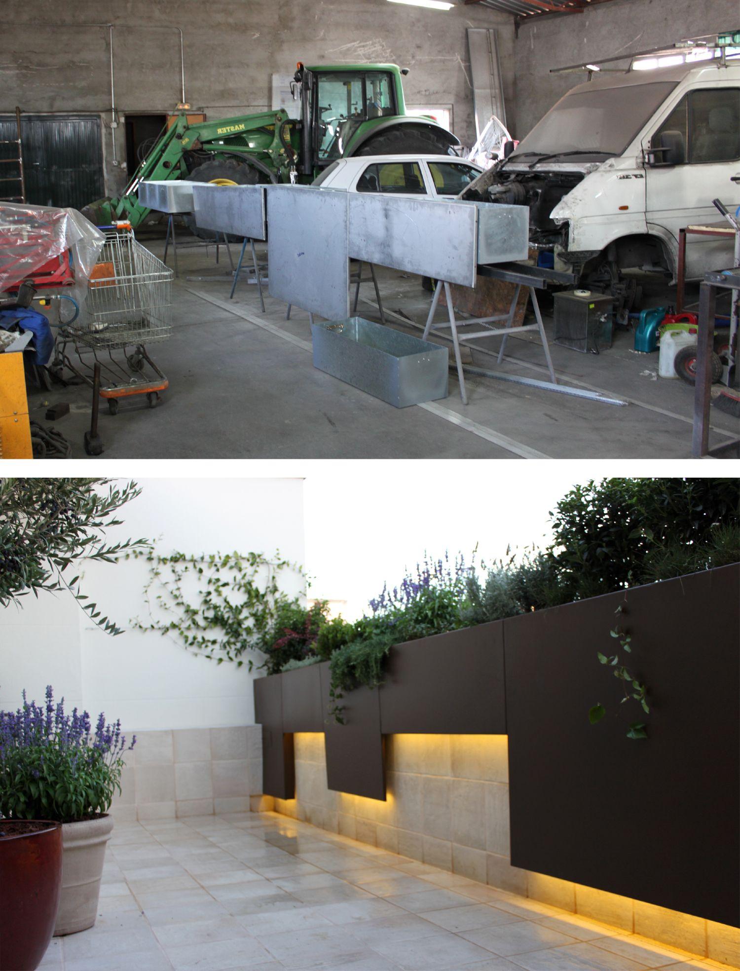 Del taller al jard n as trabajamos los paisajistas for Jardines paisajistas
