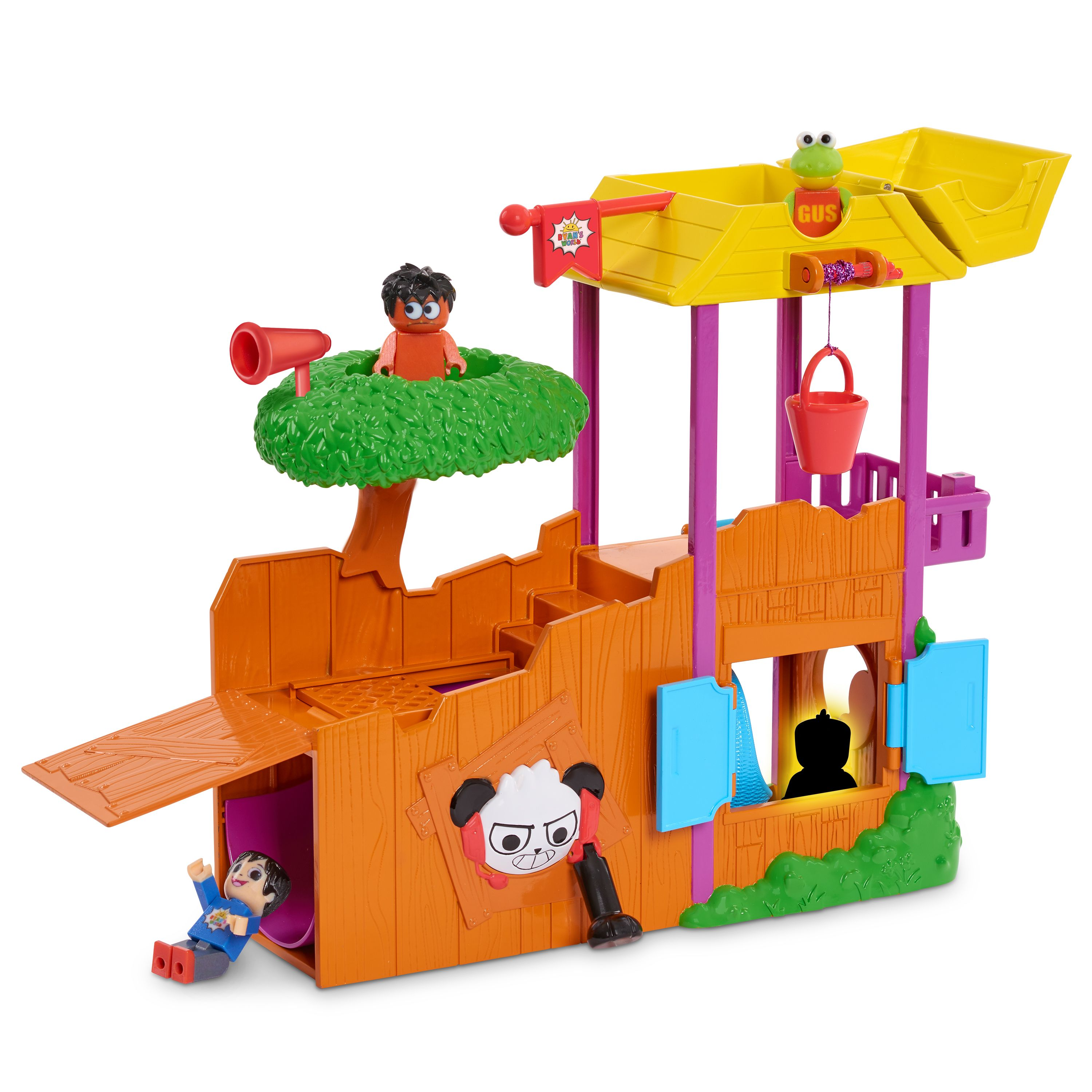 Ryan S World Ultimate Tree House Ages 3 Walmart Com In 2020 Ryan Toys Learning Toys Playset