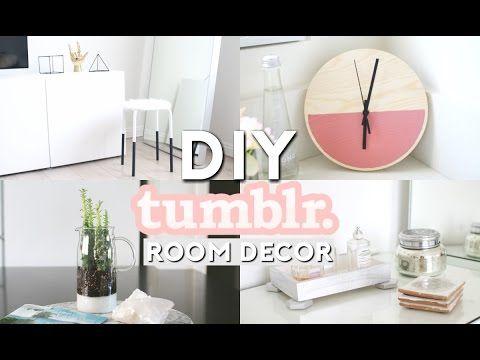 Diy Tumblr Room Decor Minimal Simple Youtube Room Diy