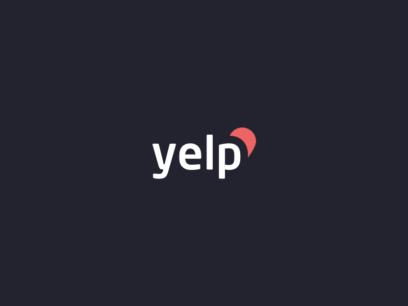 Yelp Logo Revised Yelp Logo Music Logo Design Black And White Logos