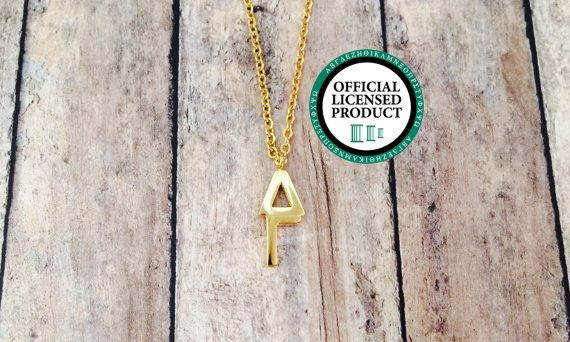 Delta Gamma Letter Necklace by LetteredCo on Etsy