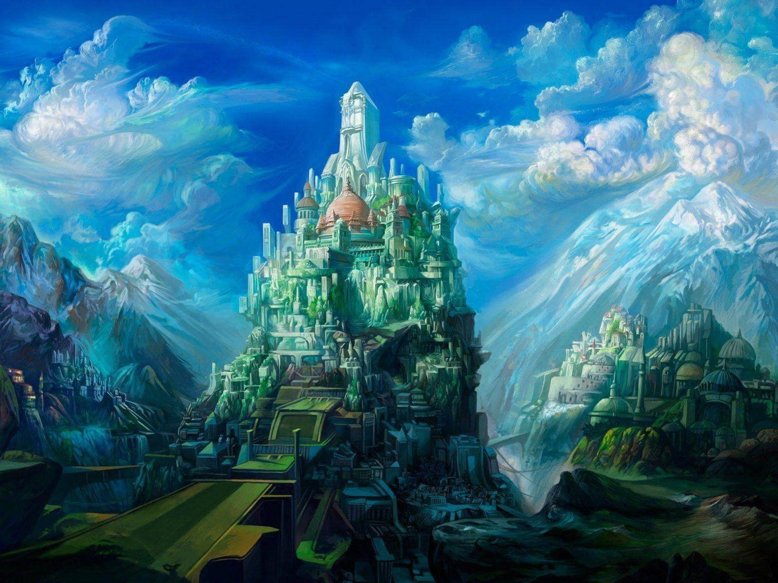 fantasy art love | fantasy art 3d hd wallpaper | magical places
