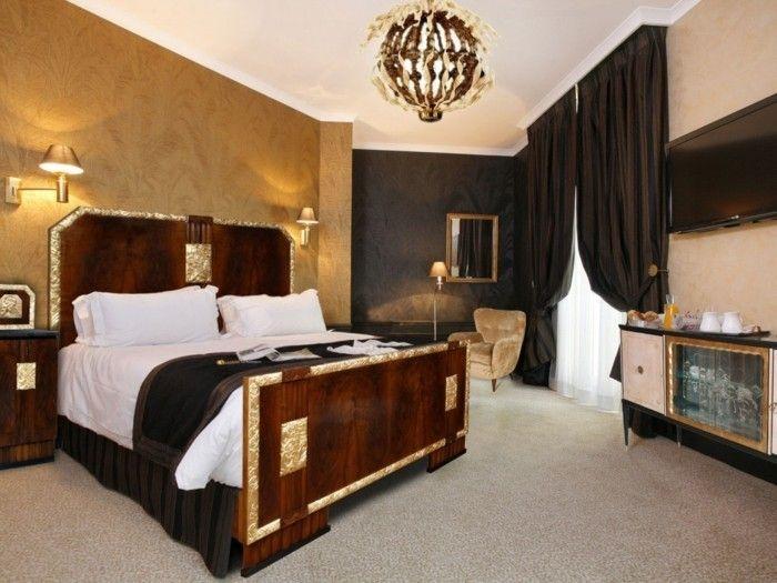 wohnung einrichten ideen schlafzimmer art deco teppichboden schöne - bilder für schlafzimmer