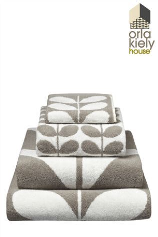 Buy Orla Kiely Giant Stem Navy Lambswool Throw from the Next UK online shop