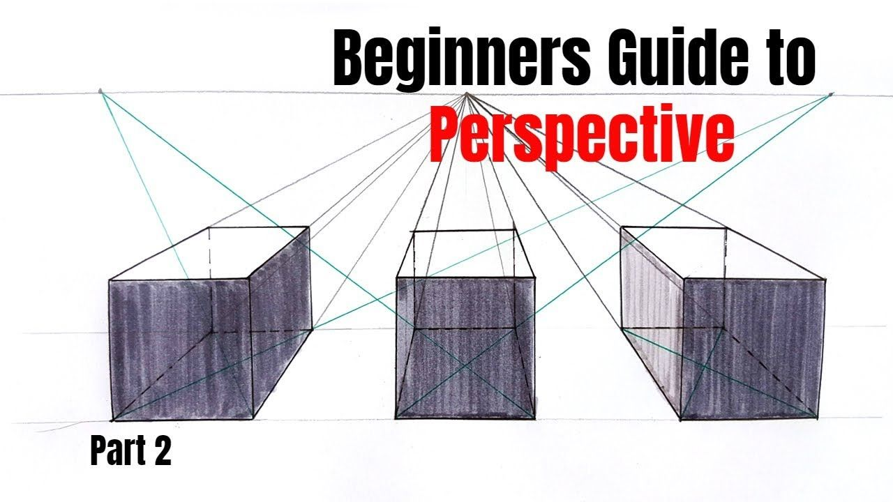 How To Draw A Perfect Cube In One Point Perspective Practice One Point Perspective Point Perspective Square Drawing