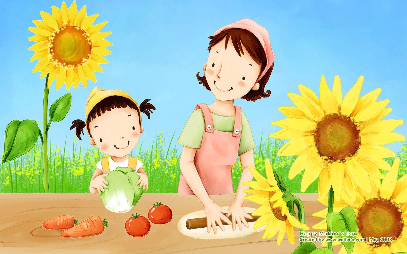 Картинки детские для мамы