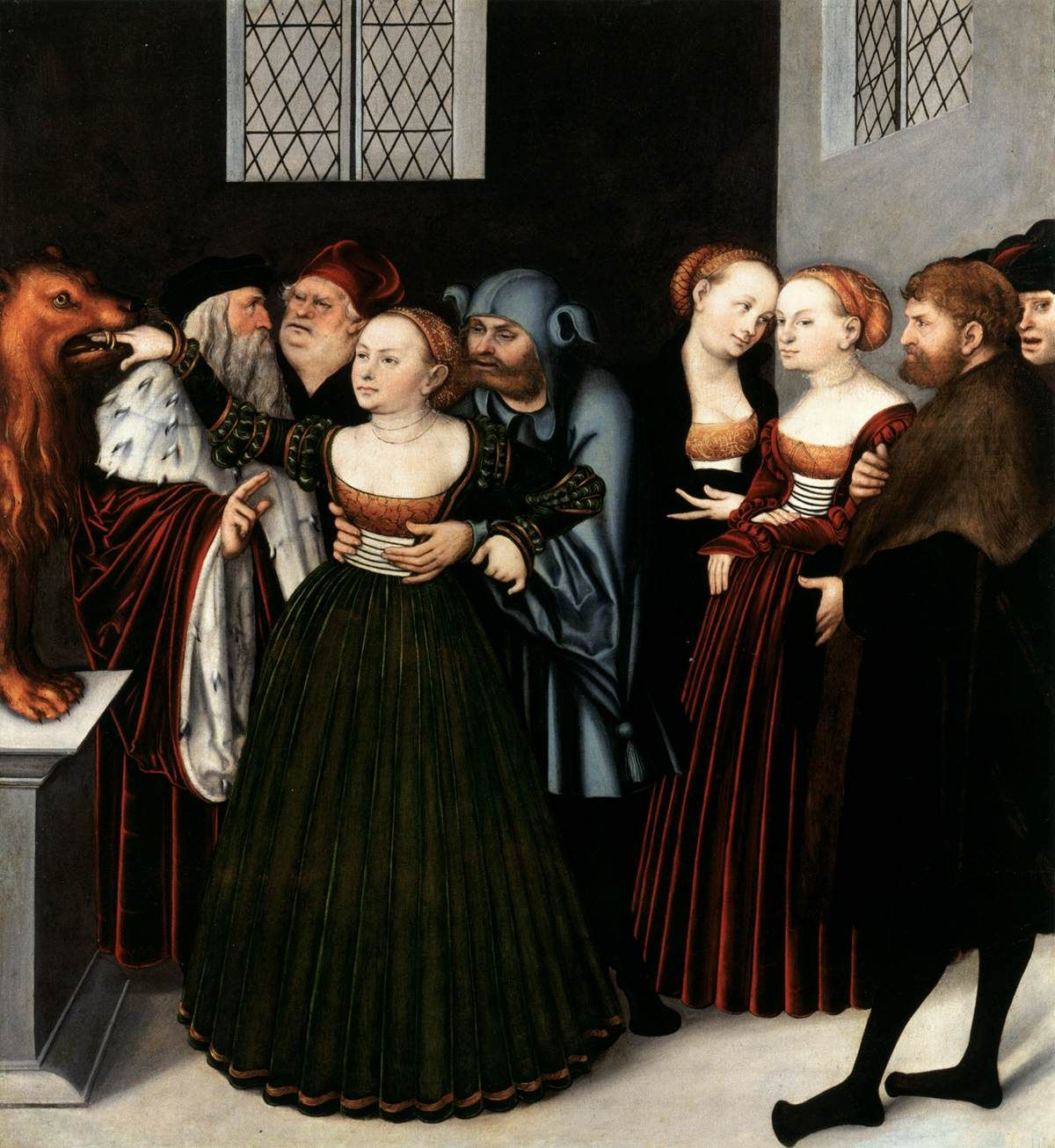 I really want a Cranach Gown! CRANACH, Lucas the Elder The Bocca ...
