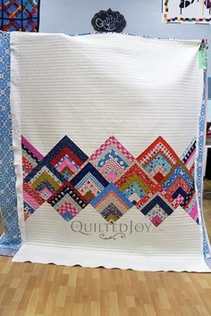 Sometimes Straight Line Quilting is all it Takes | Longarm Machine Rental | #modernquiltingdesigns