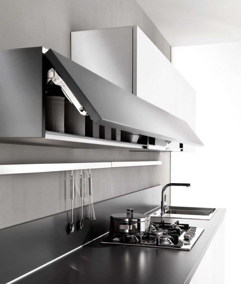 cocina pequea minimalista