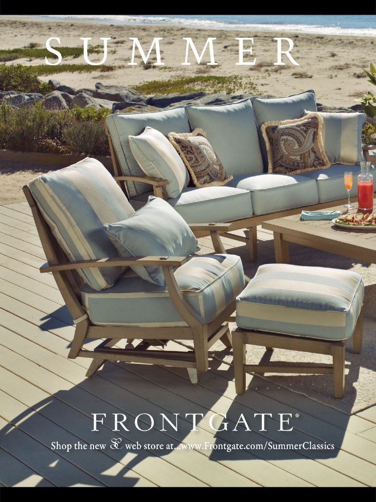 Perfect patio set from frontgate