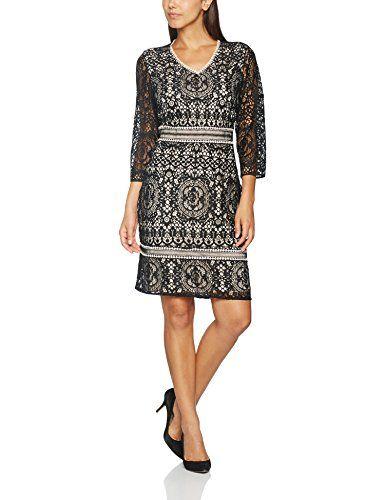 85e5c7fdb3ba comma Damen Kleid 81702823771 Schwarz (Black 9999) 38   Kleider für ...