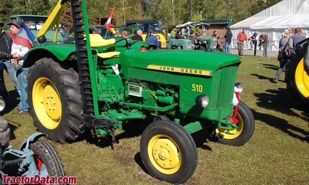 John Deere 510 | Tractors made in Germany | Tractors, Tractor photos