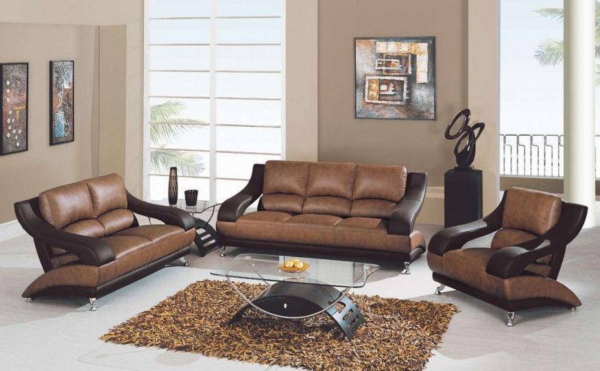 Living Room Ideas Brown Sofa With Modern Leather Wall ColorsLiving