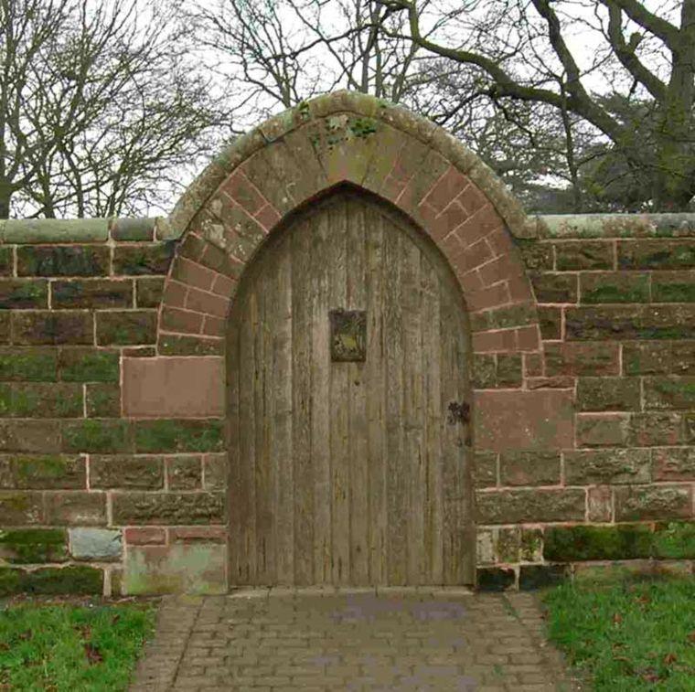 puerta de jardín muro Jardín Pinterest Gates and Doors