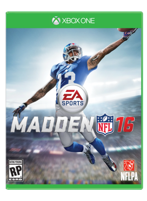 Odell Beckham is this year's cursed er, 'Madden' cover